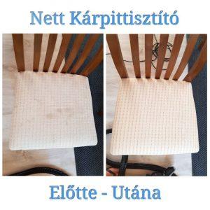 szék kárpit tisztítás, helyszíni szőnyegtisztítás Budapesten