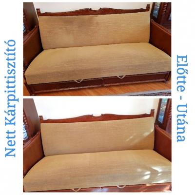 Rekamié tisztítás - Kárpitozott bútorok tisztítása - Nett Szőnyeg és Kárpittisztító