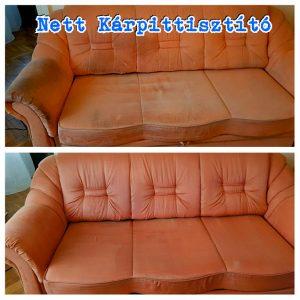 Fotelek, heverők, székek, ágyak és minden egyéb kárpitozott felületű bútor tisztítása