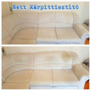 kanapé tisztítás, ülőgarnitúra tisztítás, és minden egyéb kárpitozott felületű bútor tisztítása Budapesten és vonzáskörzetében